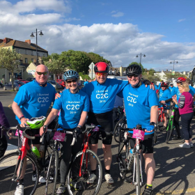 Ireland Coast2Coast cycling  We made it and thank you to all the people who generously sponsored us and these worthwhile causes.